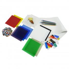 Paquete de Vidrio Fusionable para Principiantes - 90COE