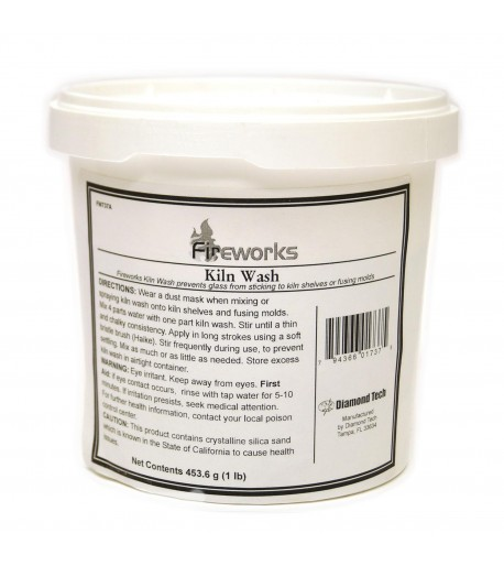 Separador de Vidrio Fuseworks - 1lb (kiln wash)
