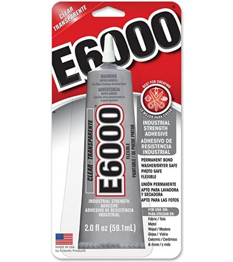 Adhesivo / Pegamento E6000 - 3.7oz