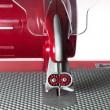 Poleas Dentadas Plástico Rojo para Sierra / Caladora Taurus para Vidrio