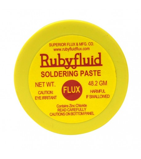Flux / Fundente Rubyfluid en Pasta para Vitrales