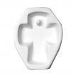 Molde de Cruz para Joyería de Vitrofusión (Termoformado)
