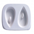 Molde de Gotas Para Joyería en Vitrofusión (Termoformado)