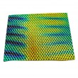 Pedacería de Vidrio Diroico en Negro Delgado DichroMagic Wissmach Tie Dye Texturizada - 1/4 Lb