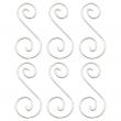 """Colgantes para Vitrales Curly Q 2 - 1-13/16"""" x 3/4"""" (6pzs)"""